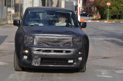 New Entry-Lev Jeep SUV Spied Testing