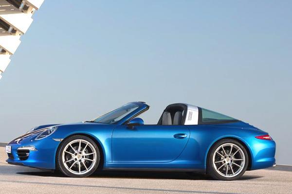 New Porsche 911 Targa unveiled