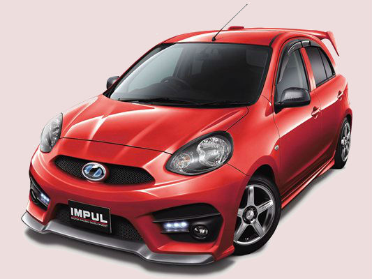 Nissan Micra receives Impul
