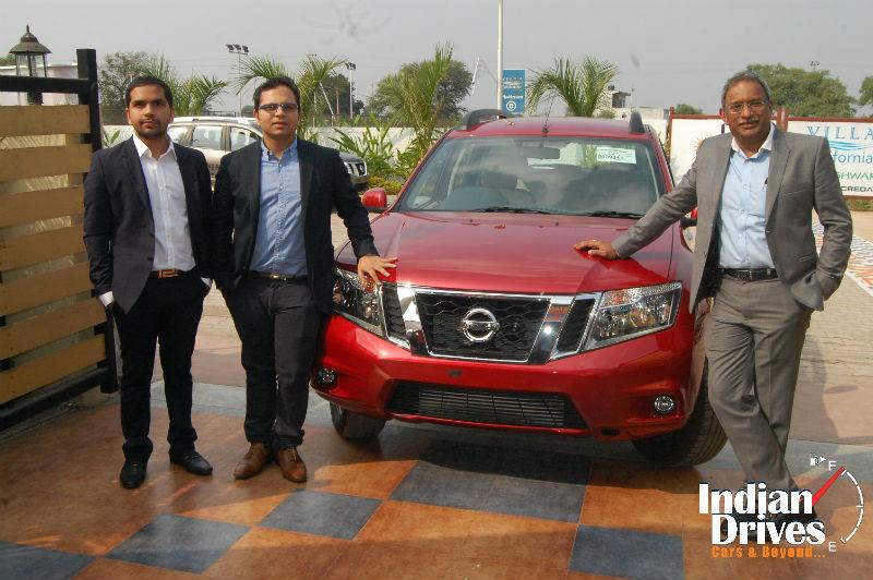 Nissan Terrano Drive Experience