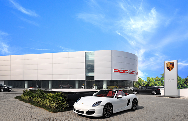 Porsche opens new showroom in Gurgaon