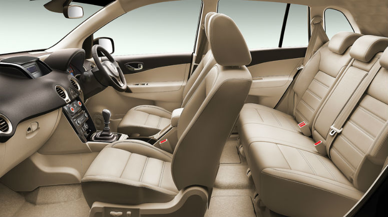 Renault Koleos Facelift interiors