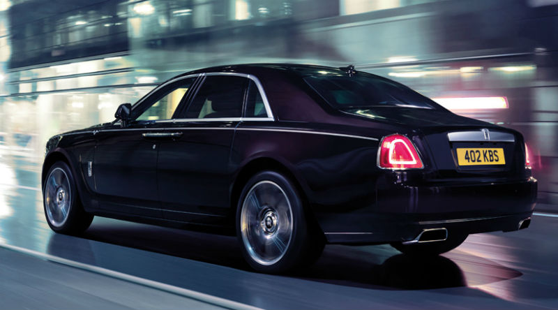 Rolls-Royce Ghost V-Spec Back View