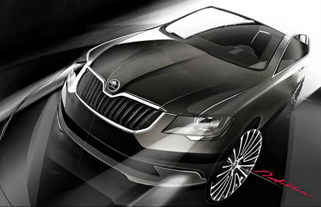 Skoda Superb Facelift