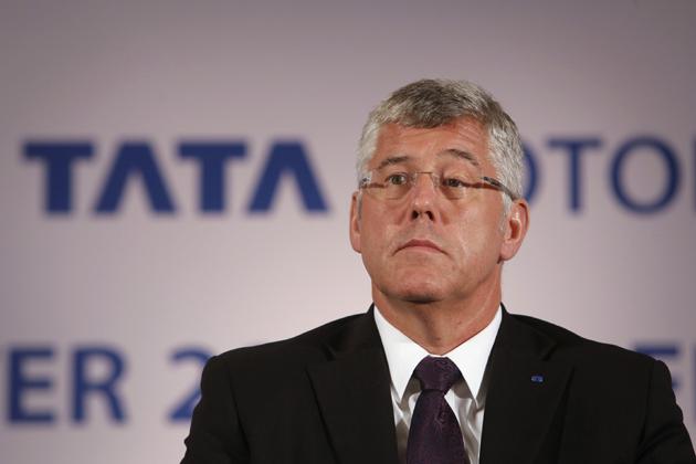 Tata Motors Managing Director Karl Slym