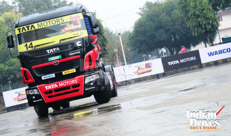 Tata Motors brings truck racing to India Launches T1 Prima Truck