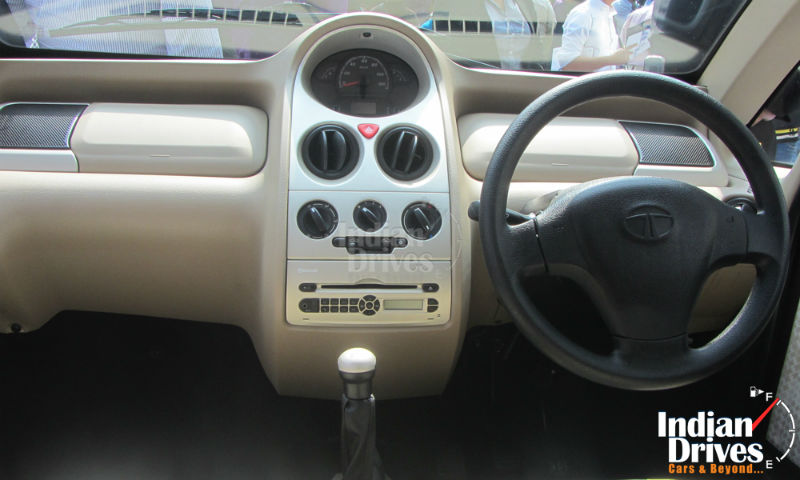 Tata Nano Twist interiors