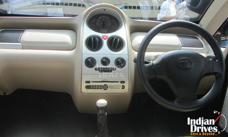 Tata Nano Twist interiors