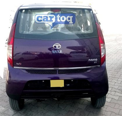 Tata Nano Twist spotted Back View