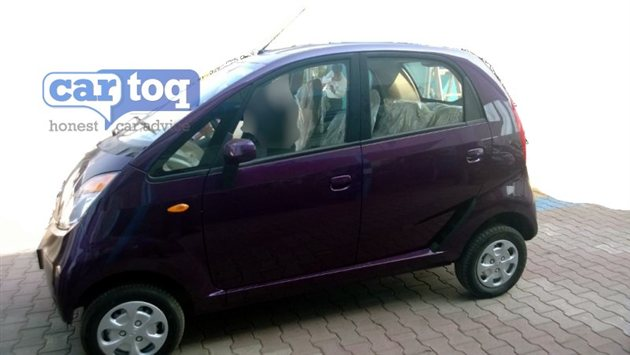 Tata Nano Twist spotted