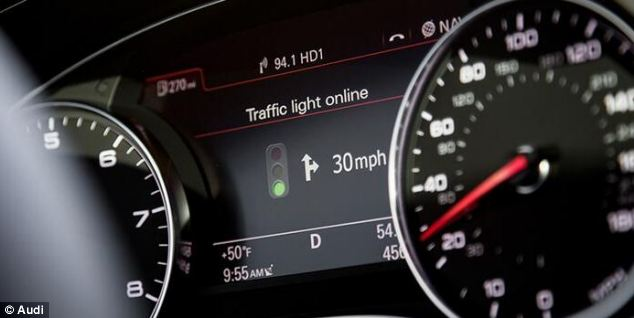 Traffic Light Assist by Audi to Ensure Smooth Flow of Traffic