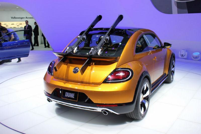 Volkswagen Beetle Dune Concept back view