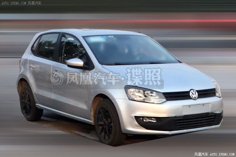 Volkswagen Polo Facelift Spied Testing