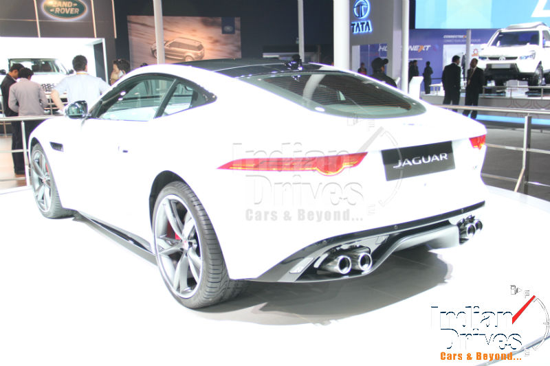 2014 Jaguar F-Type Coupe Launched in India