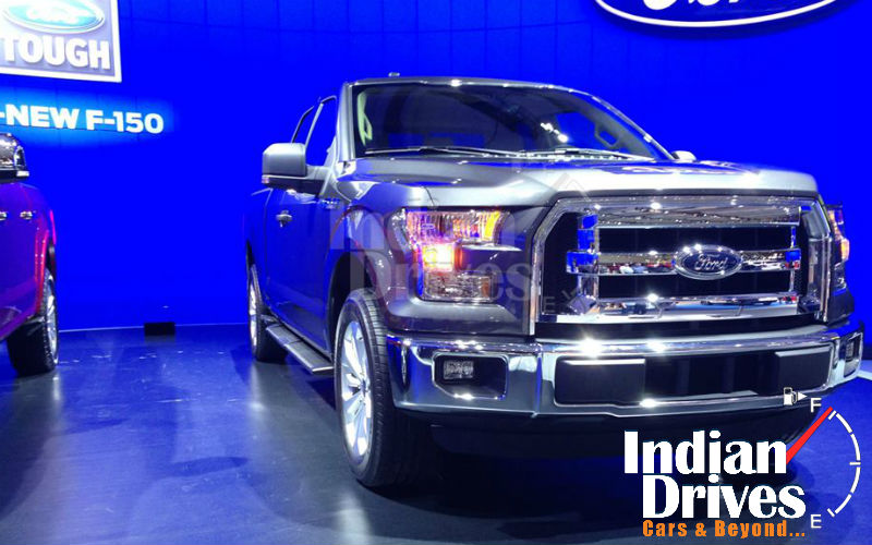 2015 Ford F-150 Showcased at 2014 Canadian International Auto Show