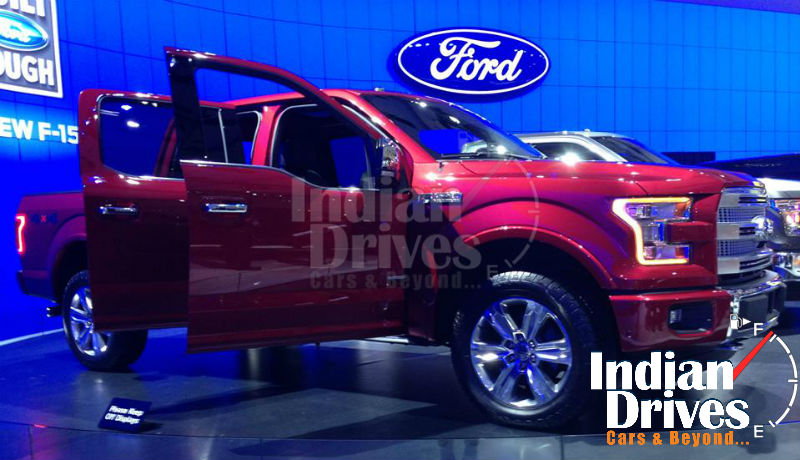 2015 Ford F-150 Showcased