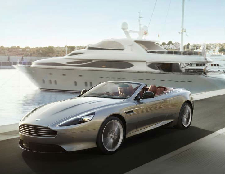 Aston Martin DB9 Facelift India