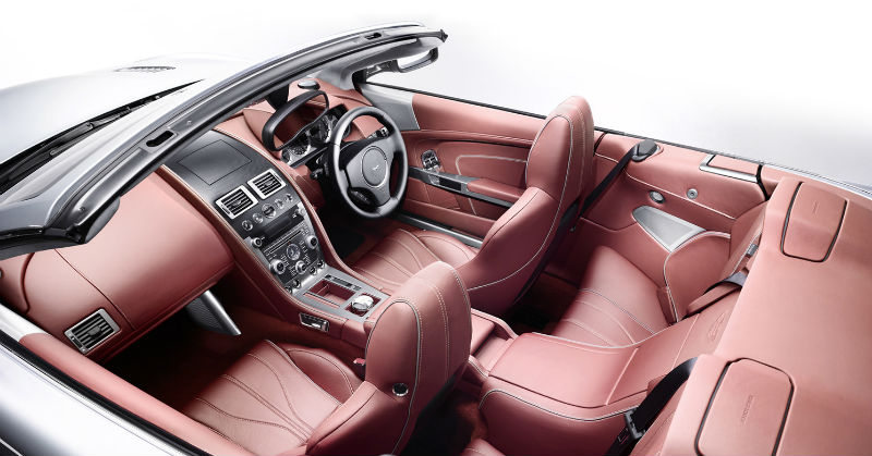 Aston Martin DB9 Facelift interiors
