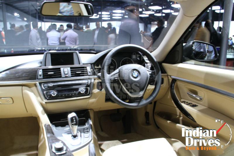 BMW 3 Series GT interiors