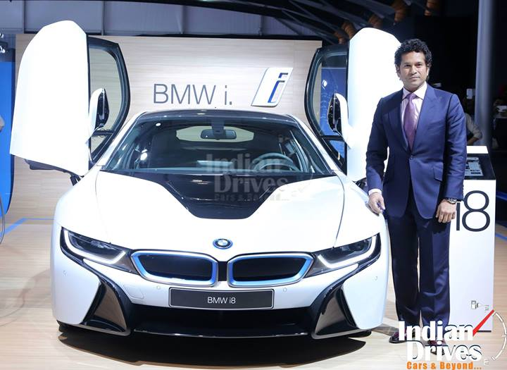 BMW i8 Unveiled in India