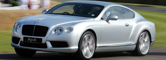 Bentley Continental GT V8 S Launched in Middle East