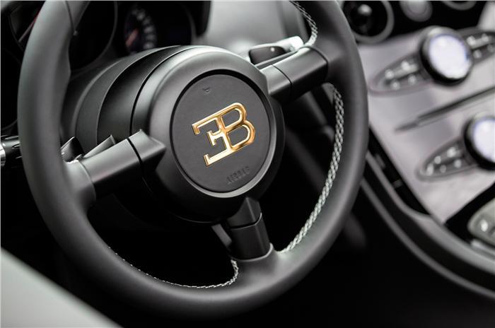Bugatti Veyron interiors
