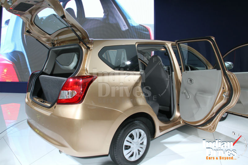 Datsun GO Plus MPV Back View