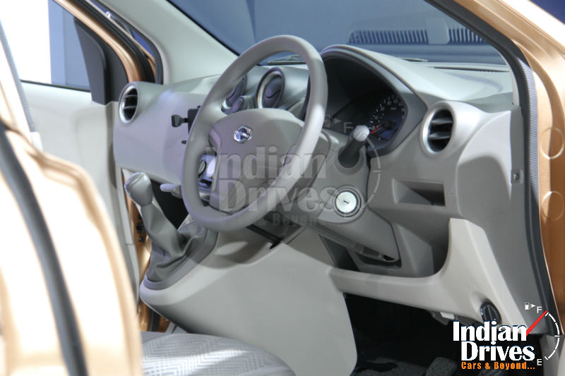 Datsun GO Plus MPV Interiors