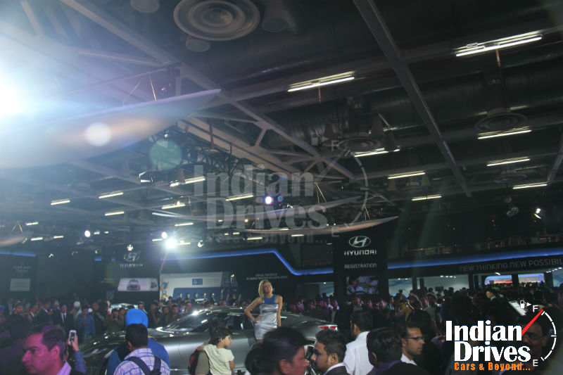 Delhi Auto Expo 2014 Witnessed more than 160000 Visitors