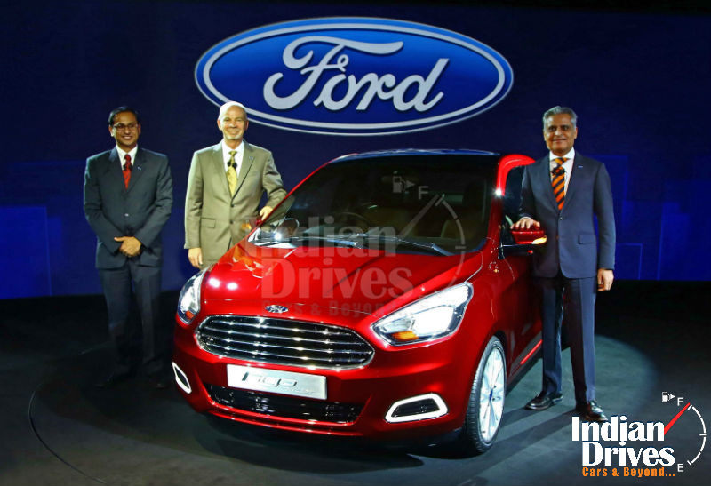 Ford Figo Concept Sedan called Ka Revealed