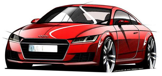 Geneva 2014 New Audi TT