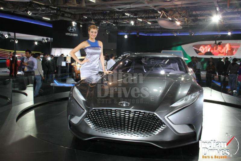 Hyundai HND-9 Venace Coupe Concept