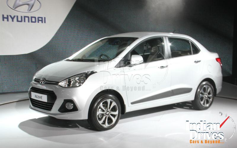 Hyundai Xcent Unveiled