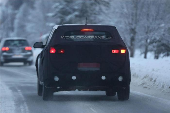 Hyundai ix25 compact SUV Back View