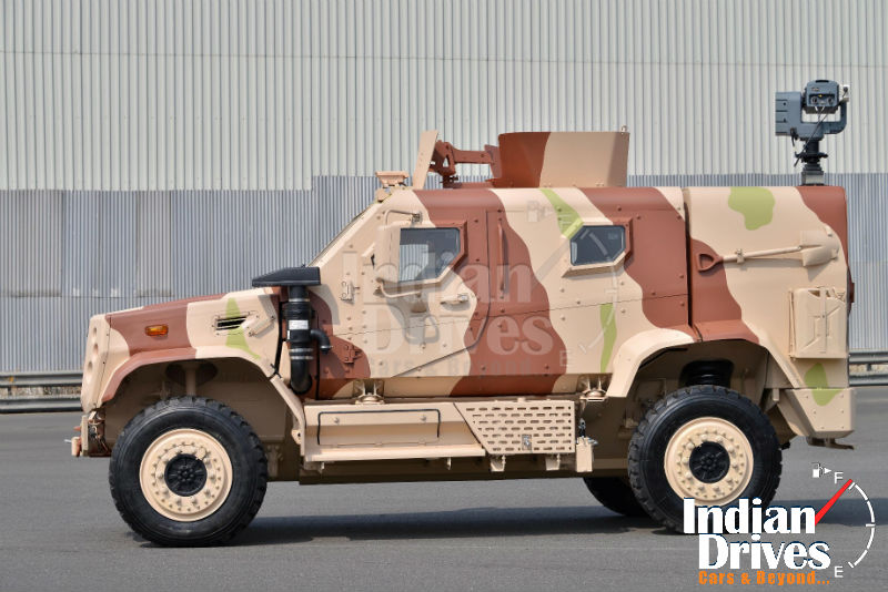 New LAMV (Light Armoured Mobility Vehicle)