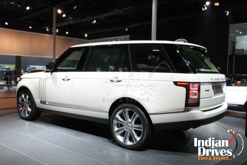 Jaguar Land Rover Back View