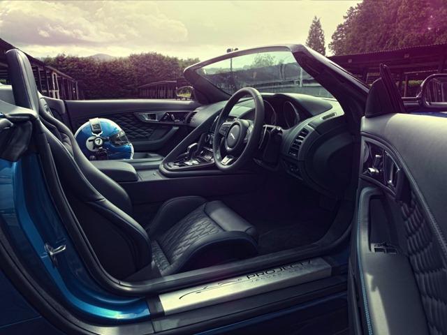 Jaguar Project 7 car Interiors