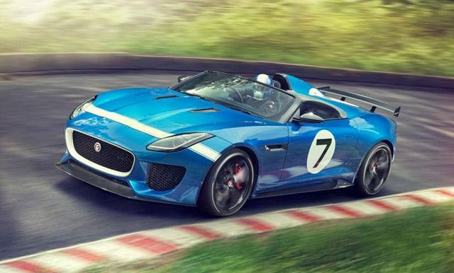 Jaguar Project 7 car