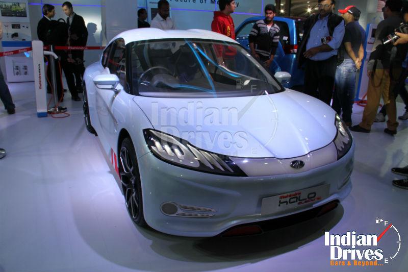 Mahindra Halo electric concept