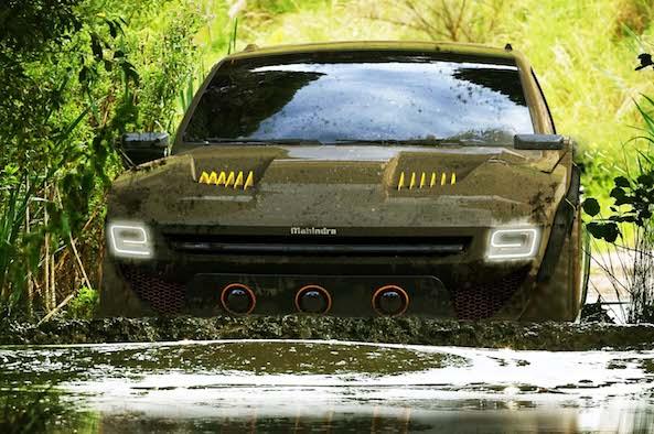 Mahindra Komodo 4X4 Concept
