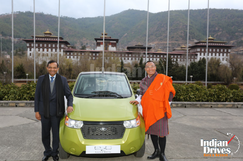 Mahindra Launches e2o in the Kingdom of Bhutan