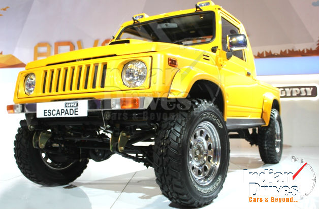Maruti Gypsy Escapade Unveiled