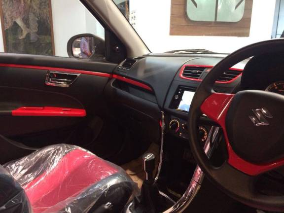Maruti Swift Volt Edition interiors