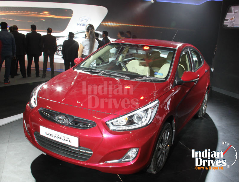 New 2014 Hyundai Verna Facelift Unveiled