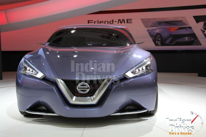 New Nissan Friend-ME concept