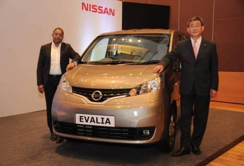 Nissan Evalia facelift