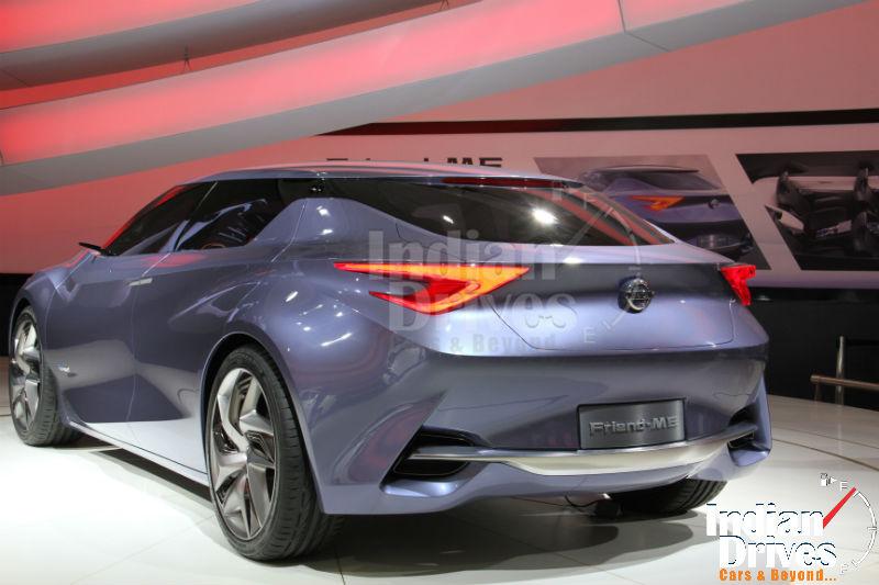 Nissan Friend-ME concept Back View