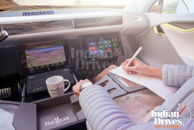 Self driving car concept