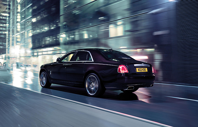 Rolls-Royce Ghost Back View