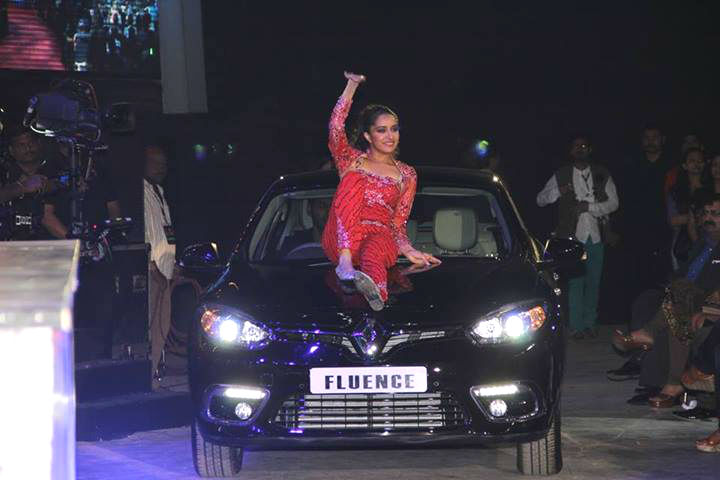Shraddha Kapoor Unveiled New Renault Fluence in India